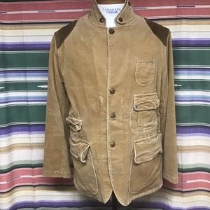 Nwt Polo sportsman corduroy jacket Sz 44R